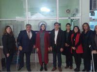 Ak Parti Aksaray Kadın Kollarından Engelli Derneğine Ziyaret