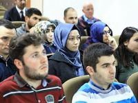 ASÜ'de Teknolojik Sekülerleşme ve Değerlerimiz Söyleşisi gerçekleşti