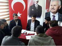 Ak Gençlik Konya'da referandum çalışmalarına devam ediyor