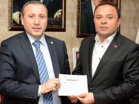 Sağlık-Der ve ÜGD'den Başkan Karatay'a Destek Ziyaret