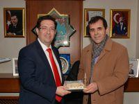 Yazar Mustafa Aydoğan'dan Başkan Yazgı'ya Ziyaret