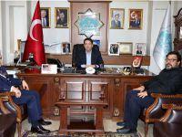 Turgay'dan Başkan Yazgı'ya Ziyaret