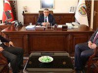 Zavlak ve Başkan'dan Vali Pekmez'e ziyaret