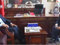 Kaymakam Kartal'dan Başkan Alçay'a iade-i Ziyaret