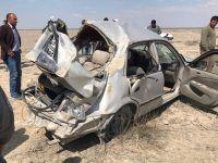 Eskil'de kaza 1 ölü 1 ağır yaralı