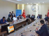 Devlet Malzeme Ofisi Aksaray'daki Firmalarla Buluştu
