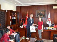 Piri Mehmet Paşa Ortaokulu Öğrencilerinden Başsavcı Akın'a ziyaret