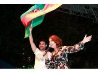 Ramazan Sokağında Azerbaycan Rüzgarı Esti
