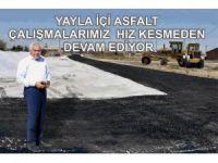 Eskil Belediyesi Asfalt Çalışmalarını Hızlandırdı