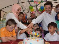 Aksaray'da Özel Çocuklar Gönüllerince Eğlendi