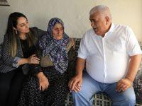 Yeşim Pekmez Şehit Ailesi ve Evde Bakım Hizmeti Alan Aileleri ziyaret etti