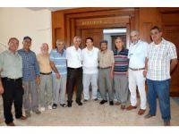 Muhtar Ve Vatandaşlar Başkan Yazgı'yı Ziyaret Etti