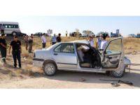 Kaza Yapan Sürücü Direksiyon Başında Can Verdi