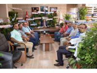 Aksaray Ticaret Borsası'ndan Ak Partiye Hayırlı Olsun Ziyareti
