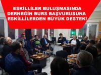 Eskililer Derneği'nin Burs Başvurusuna Eskilli vatandaşlardan büyük destek