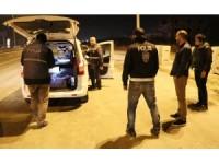 Aksaray'da Polis 24 Saat Uygulamada