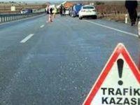 Aksaray'daki kazada genç kadın ağır yaralandı!