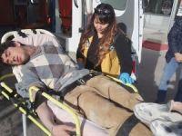 Elektrik Akımına Kapılan Afgan Ağır Yaralandı