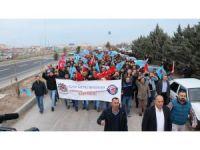 Aksaray'da İşçiler Zam Ve Sosyal Hakları İçin Yürüdü