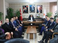 Sağlık Camiasından, İl Başkanı Hüseyin Altınsoy'a Ziyaret