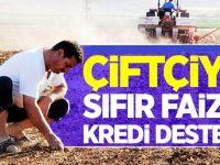 100 Bin Çiftçi Ailesine Sıfır Faizli Kredi Geliyor!