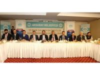 Aksaray'da Protokol, Gazeteciler Günü'nde Medya Mensuplarıyla Buluştu