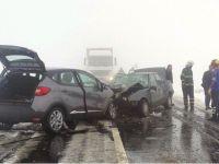 Aksaray'da İki Otomobil Çarpıştı: 1 Ölü, 6 Yaralı