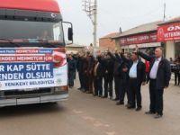 Yenikent Kasabası'ndan Mehmetçiğe 100 Ton Süt Bağışı