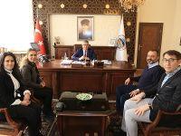Türkiye Beyazay Derneğinden Aykut Pekmez'e ziyaret