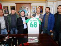 Eşmekaya Belediye Gençlik Spor Yönetiminden Yazgı'ya Ziyaret