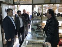 Başkan Altınsoy'dan esnaf ziyareti