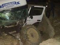 Sultanhanı'nda trafik kazası 3 yaralı