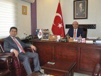 İdris Bolakar'dan Aksaray Baro Başkanlığına ziyaret