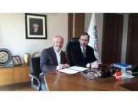 Topakkaya Beldesine Spor Kompleksi İçin Protokol İmzalandı