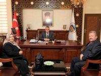 Us ve Yentürk Vali Pekmez'i ziyaret etti