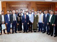 Aksaray AK Parti Gençlik Kolları, Başkan Yazgı'ya Ziyaret Etti