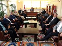 Aksaray'da Belediye Başkanları İstişare Toplantısı Biraya Geldi