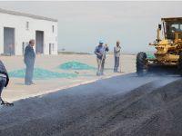 Ortaköy Belediyesi asfalt sezonu açtı.