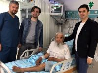 Şahdamarı felçli hastaya stent takıldı