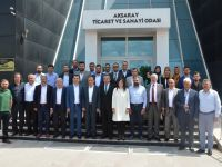 AK Parti Heyetinden ATSO'ya Ziyaret!