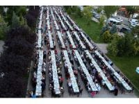 Başkan Yazgı 3 bin kişiyle iftar sofrasında buluştu