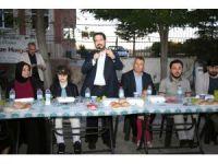 Başkan Yazgı iftar yemeğinde müjdeyi verdi