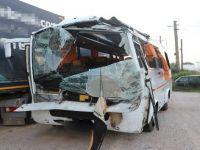 Aksaray'lı Servis aracı Kaza Yaptı!, 2 Ölü, 17 Yaralı