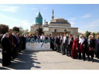 Şehit aileleri ve gazilere Konya'da kültür gezisi