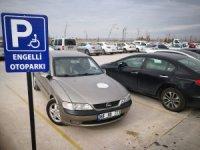 Aksaray'da engelli yerlerine park edenlere ceza