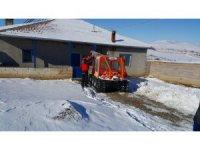 Köyde mahsur kalan hastayı AFAD ekibi hastaneye ulaştırdı