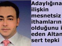 Süleyman Altan'dan sert tepki