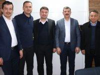 Evren Dinçer'den eski Milletvekili Turan Yaldır'a ziyaret