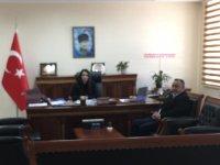 Altan'dan Kaymakam Karaalioğlu'na ziyaret