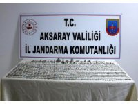Aksaray'da tarihi eser operasyonu: 2 gözaltı